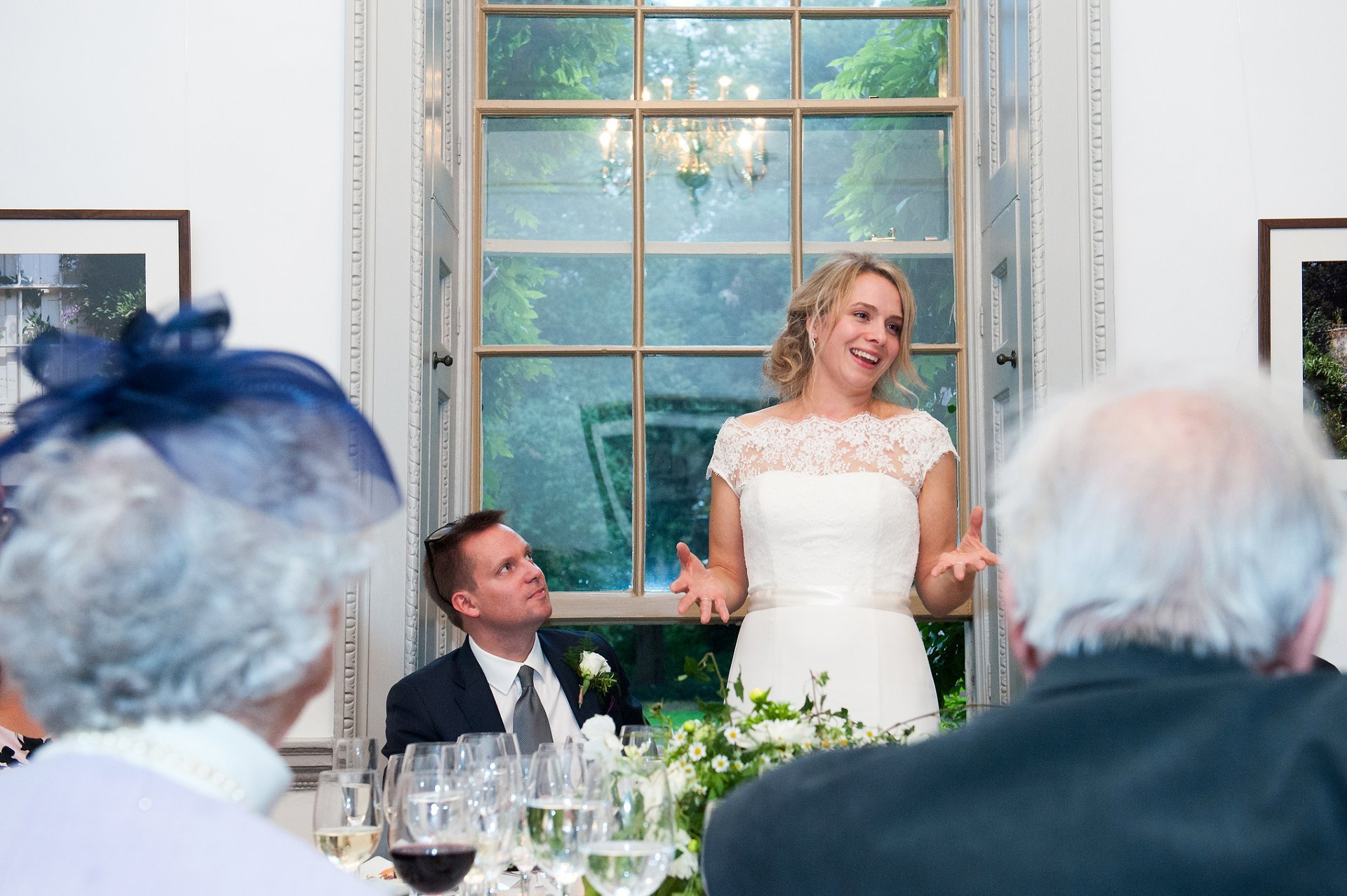 Bride's speech at Fulham Palace