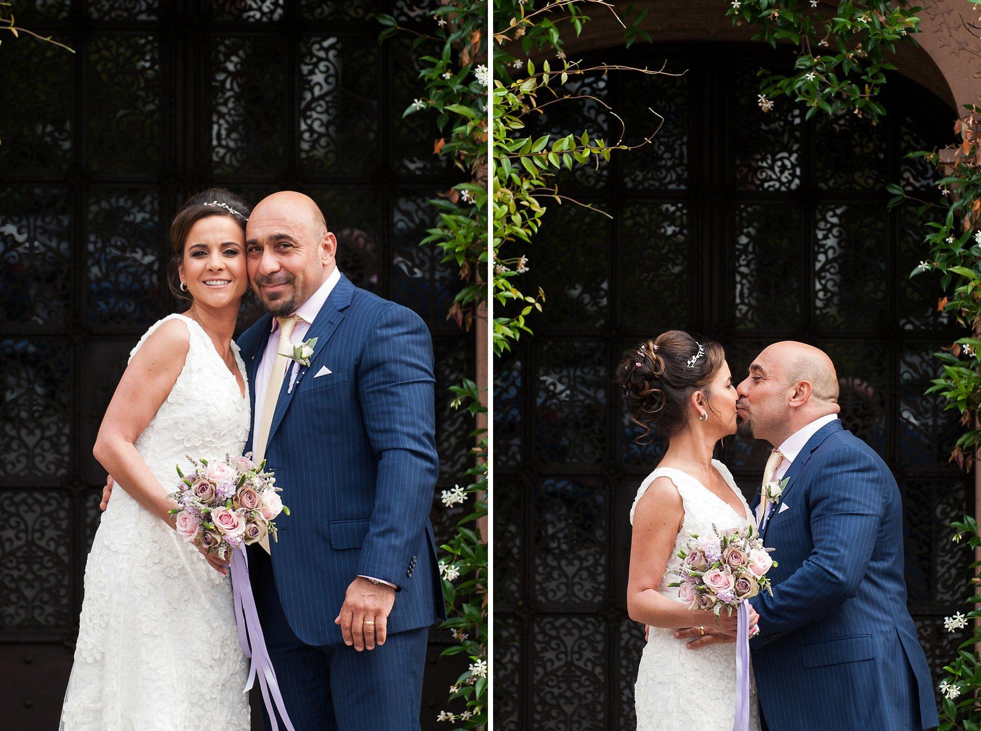 Bride & groom in Chelsea
