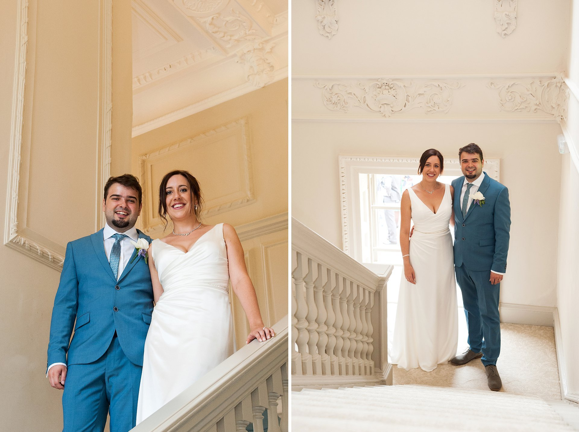 The stunning staircase at Morden Hall is great for photos