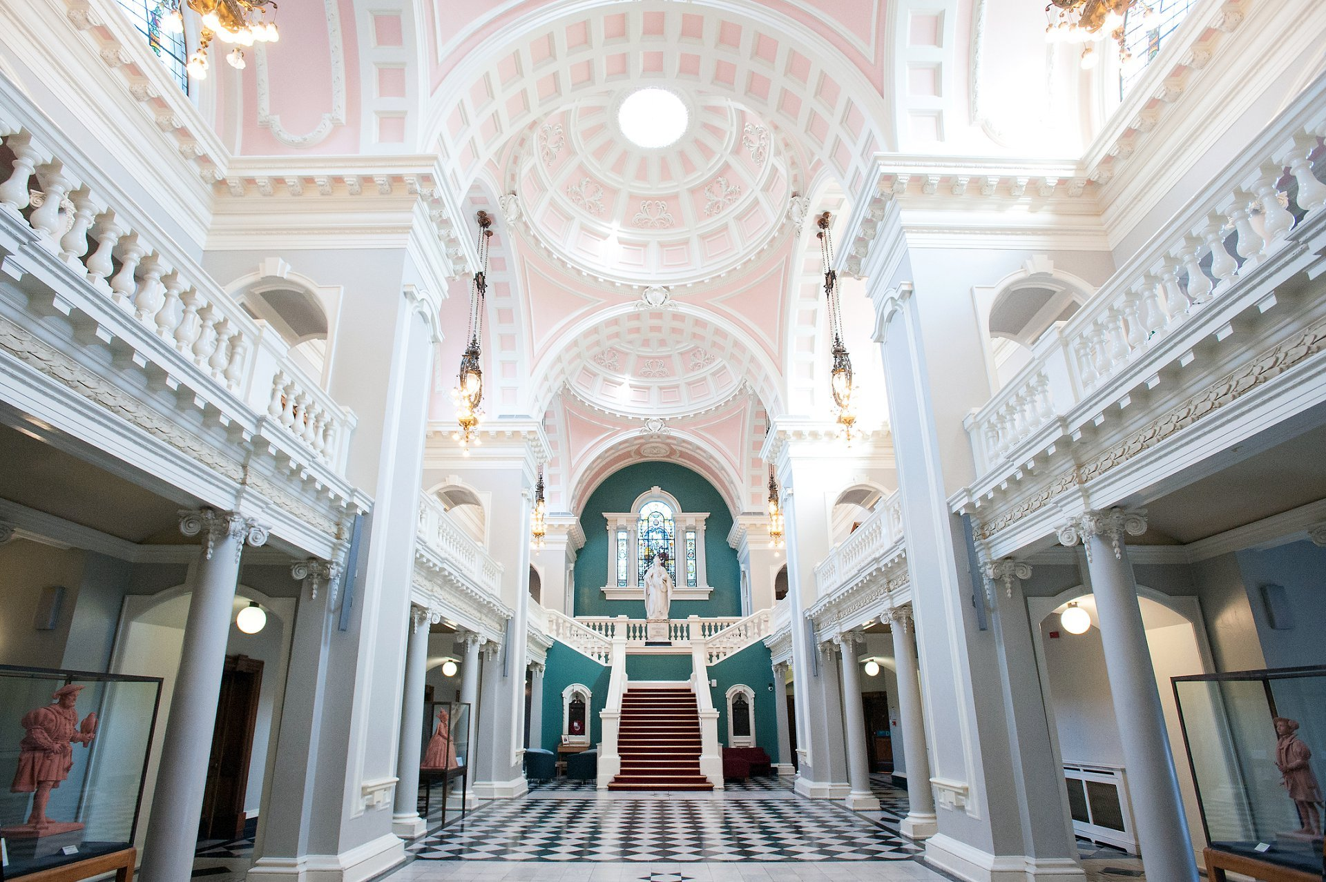 Victoria Hall inside Woolwich Town Hall which is the Greenwich Register Office. Photo by Greenwich Register Office wedding photographer Emma Duggan.