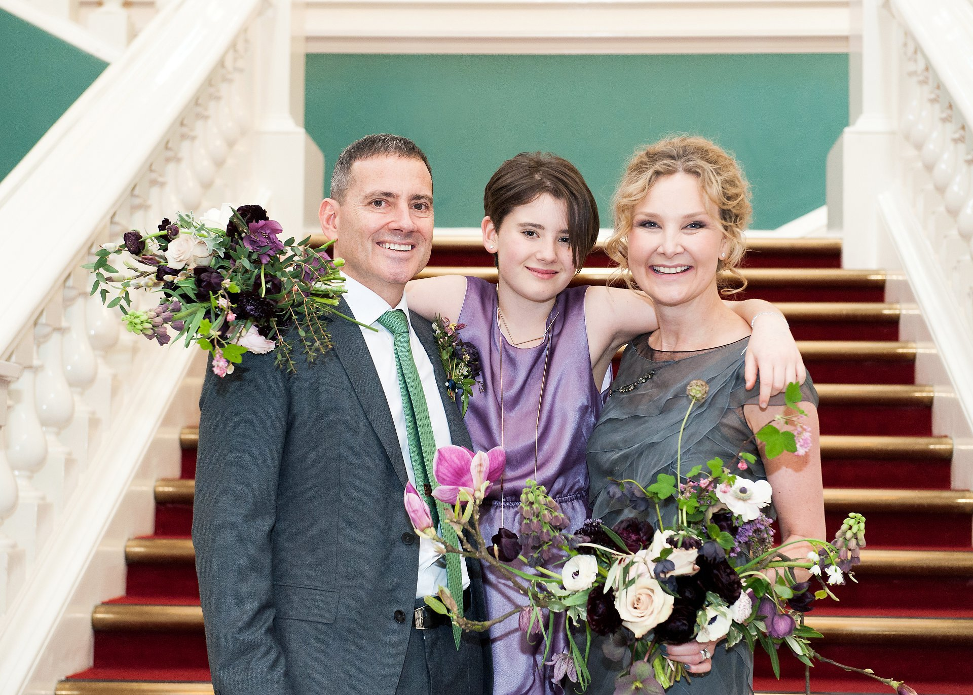 Family photography inside Woolwich Town Hall