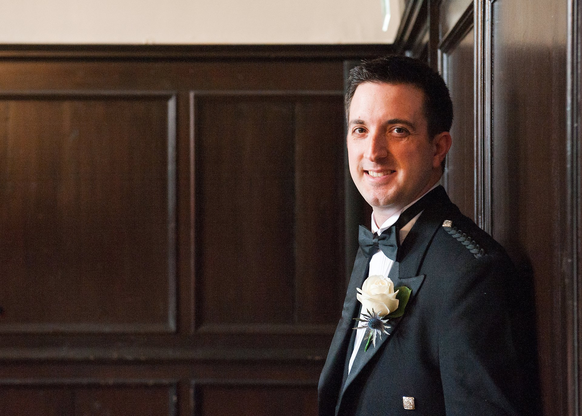 Groom, Adam, in the Great Hall at Fulham Palace