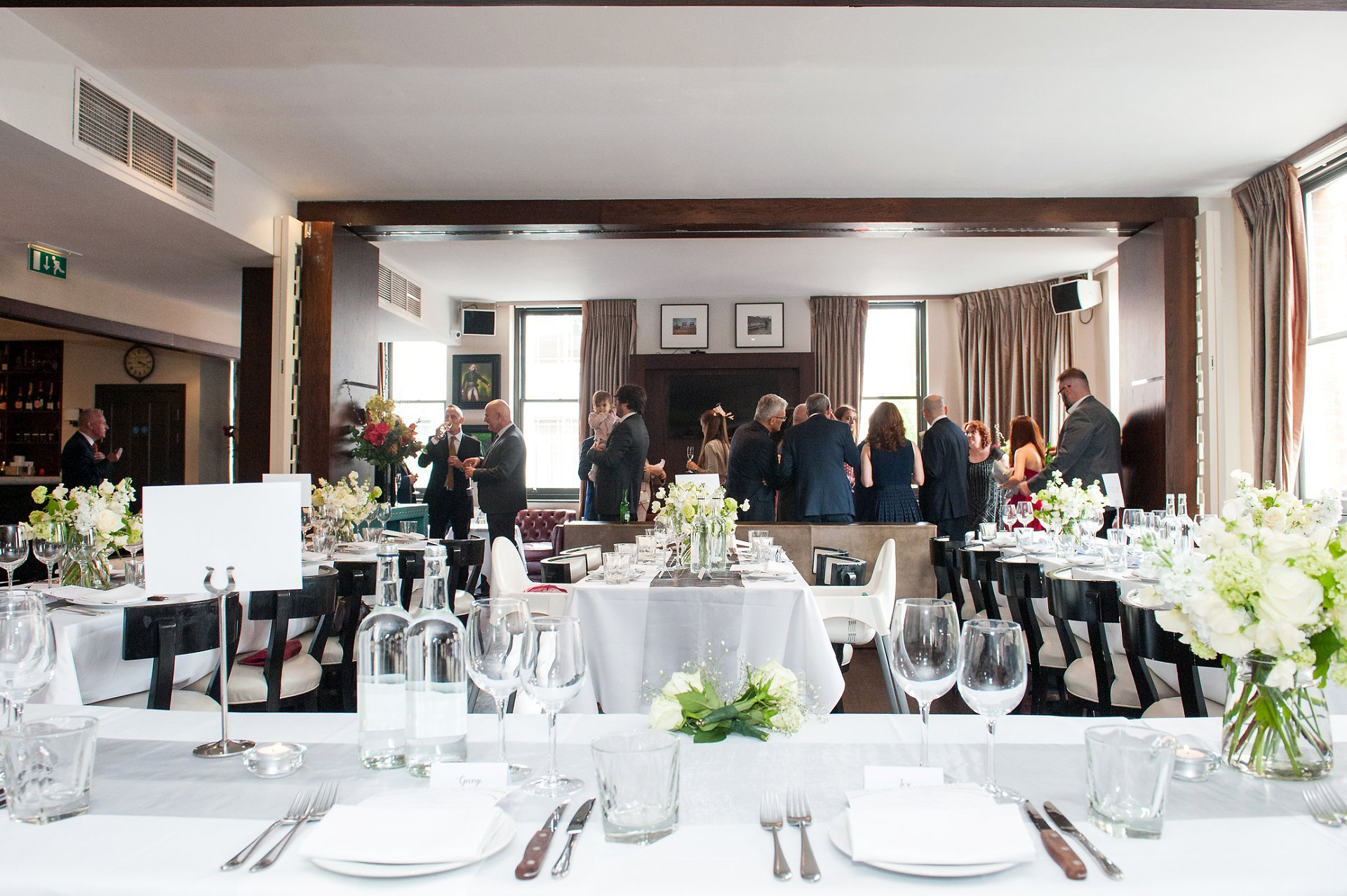 Wedding Reception at Beaufort House Chelsea