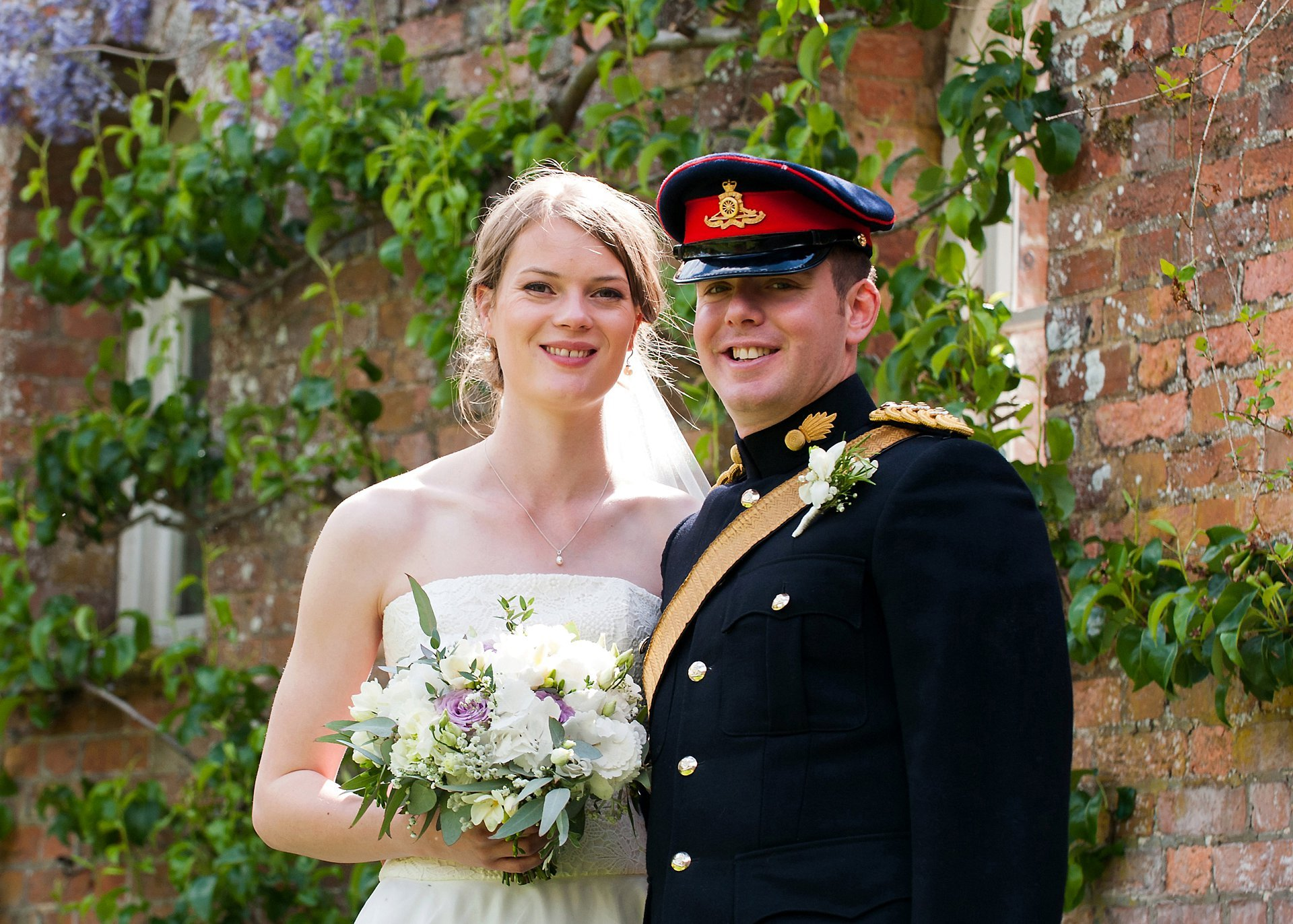 Sam and Jess at Starborough Manor, Marsh Green, Kent for their wedding reception