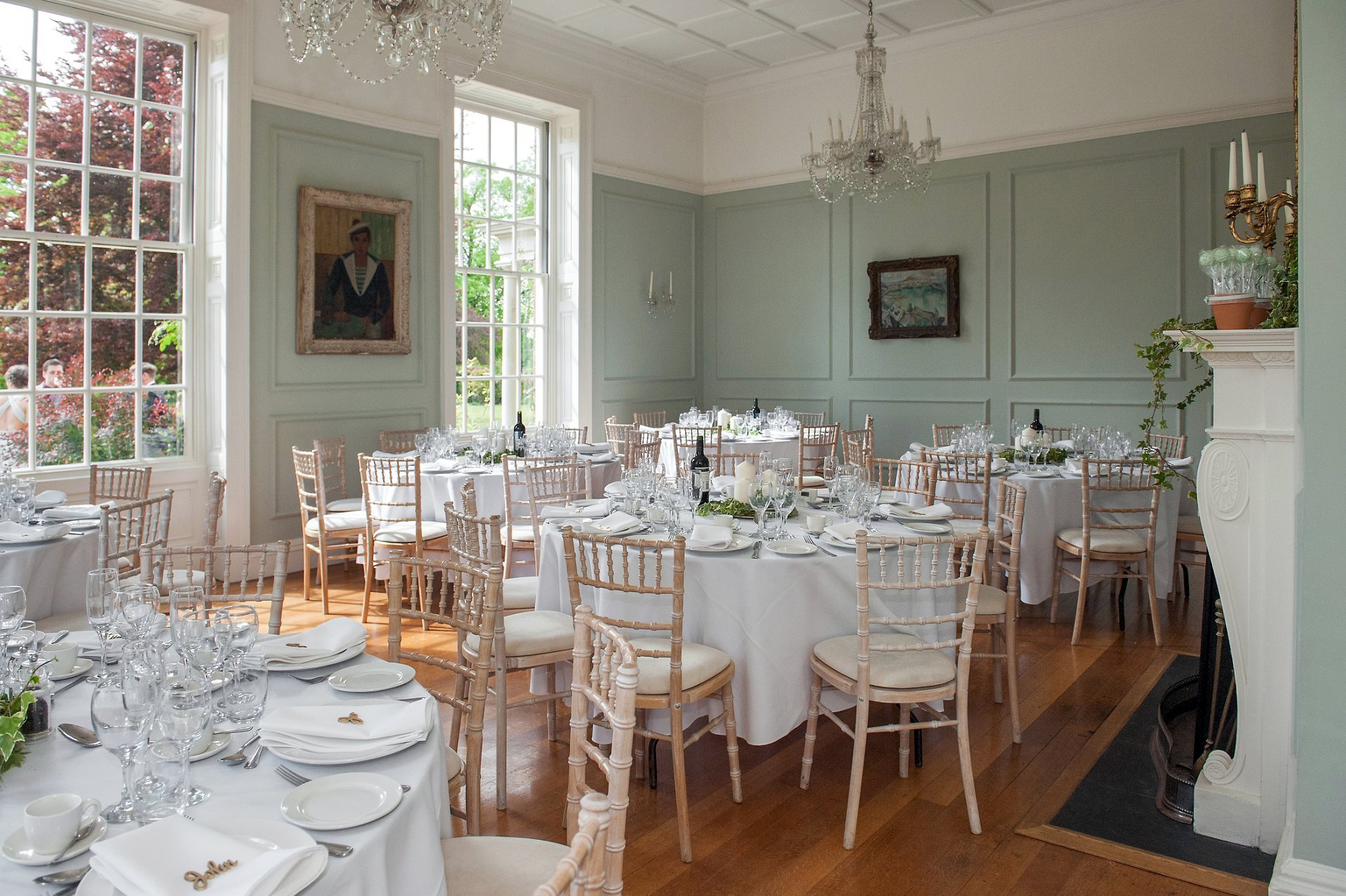 Wedding breakfast at Starborough Manor in Kent