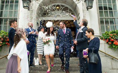 Chelsea Old Town Hall Summer Wedding