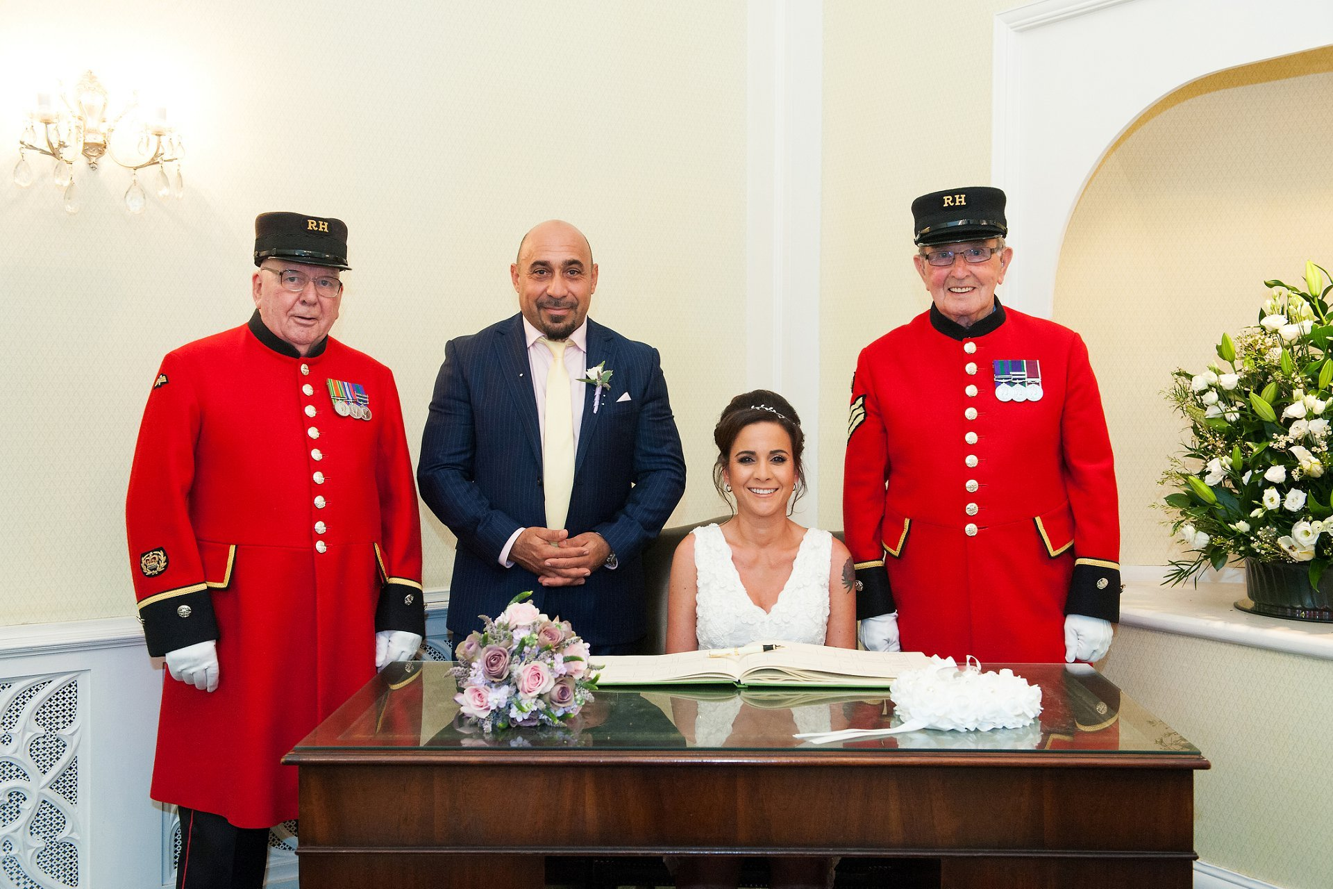 How to book Chelsea Pensioners to be a witness to my wedding via the Royal Hospital