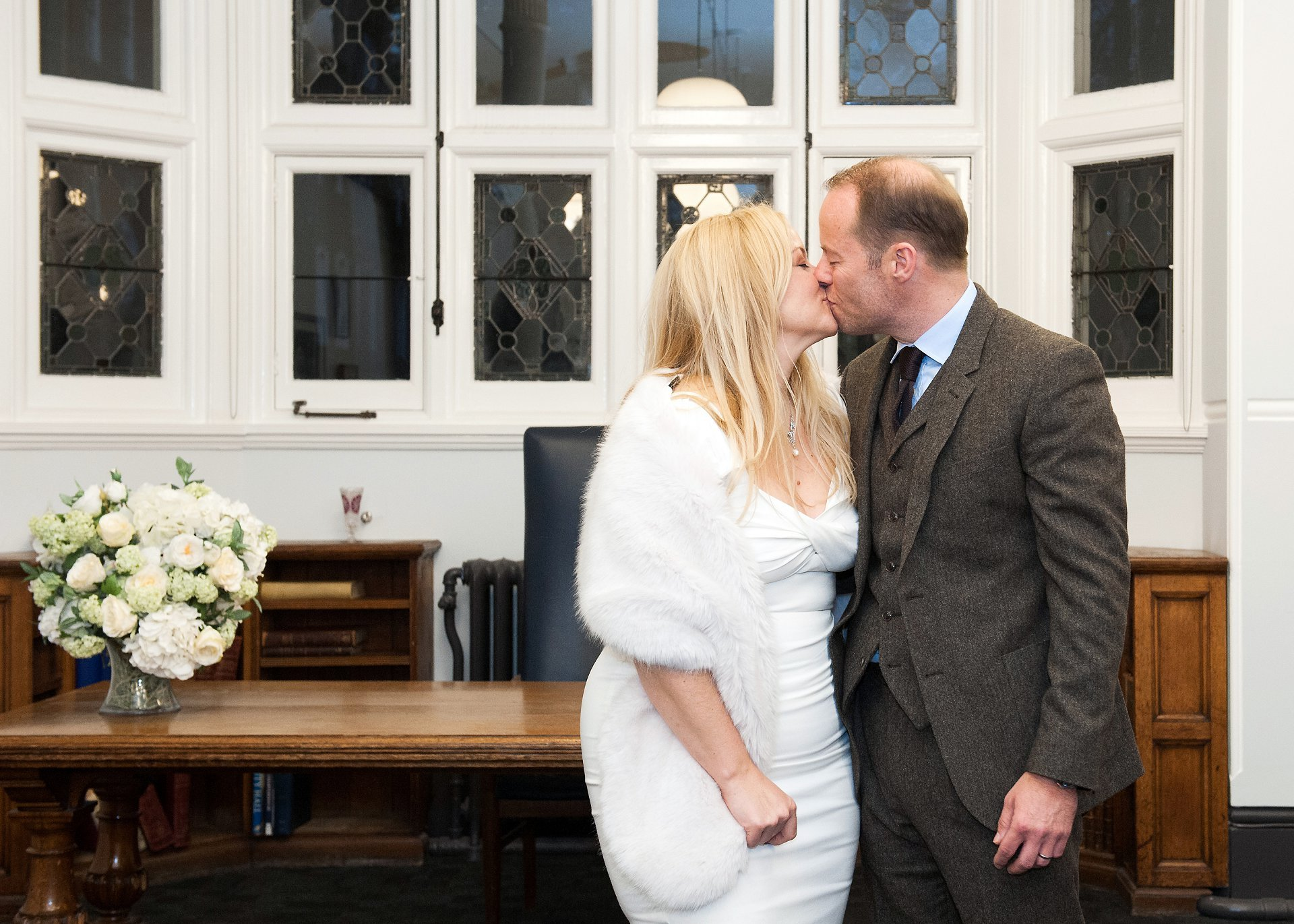 Westminster Register Office Christmas wedding Old Marylebone Town Hall wedding photographer Emma Duggan for hourly coverage of small, intimate wedding celebrations