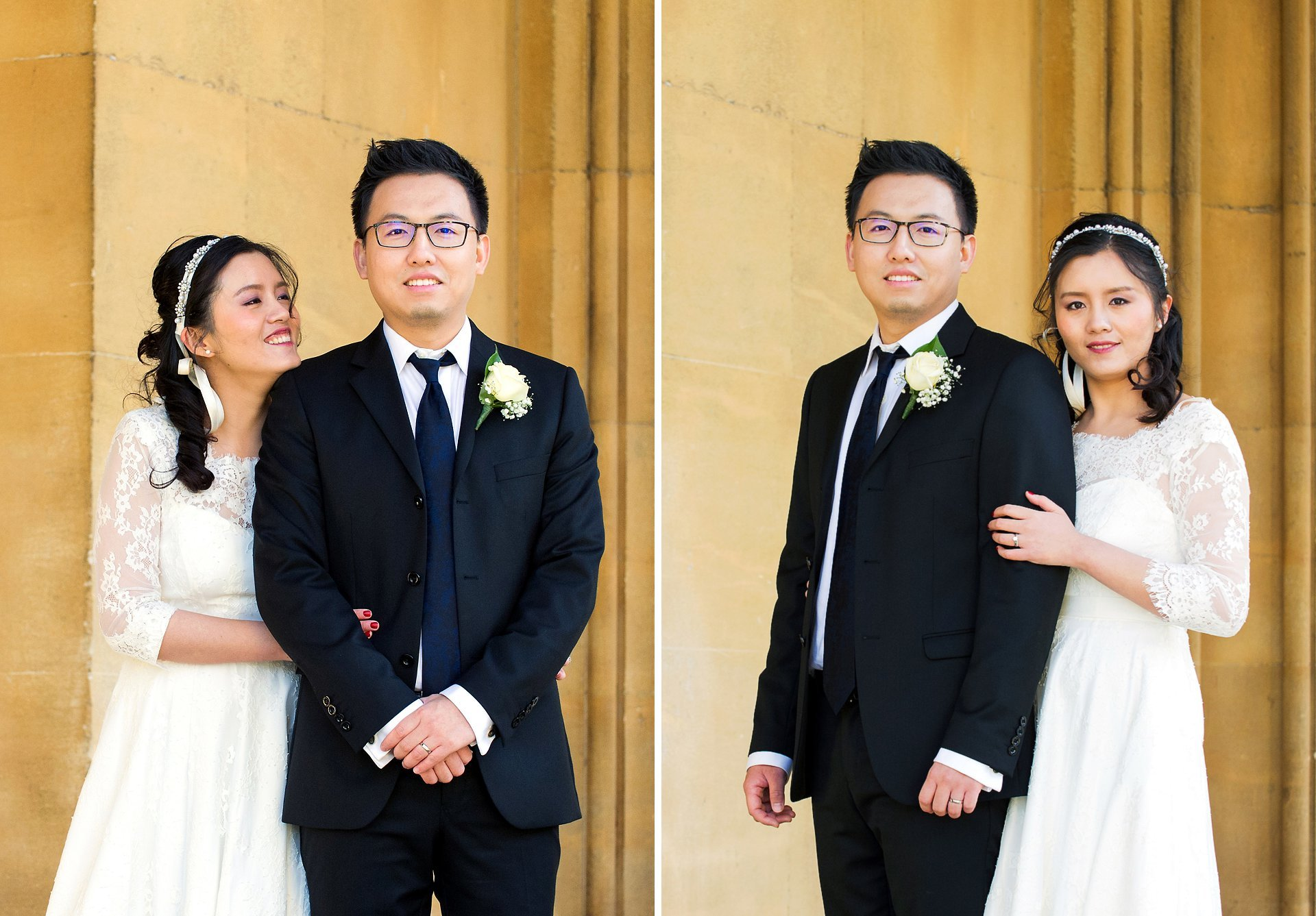 a chinese bride and groom photographed near chelsea old town hall by emma duggan photography