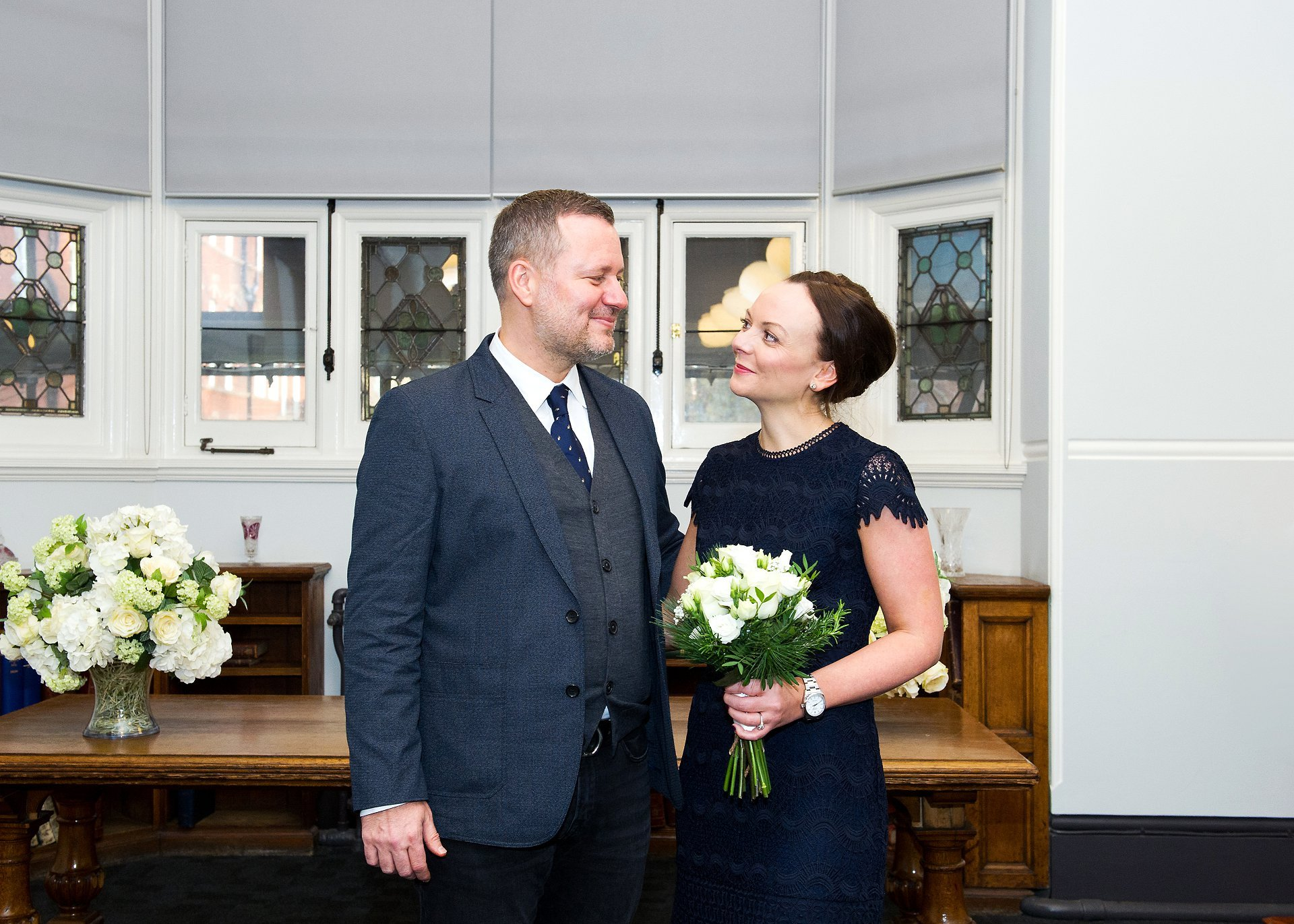 a bride and groom just before their civil wedding ceremony photographed by emma duggan a specialist register office photographer
