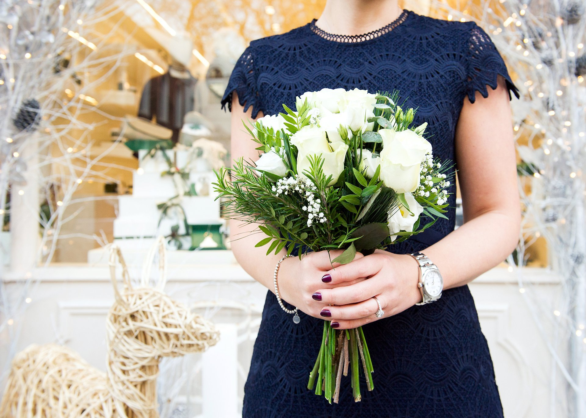 a wedding bouquet by london wedding photographer emma duggan