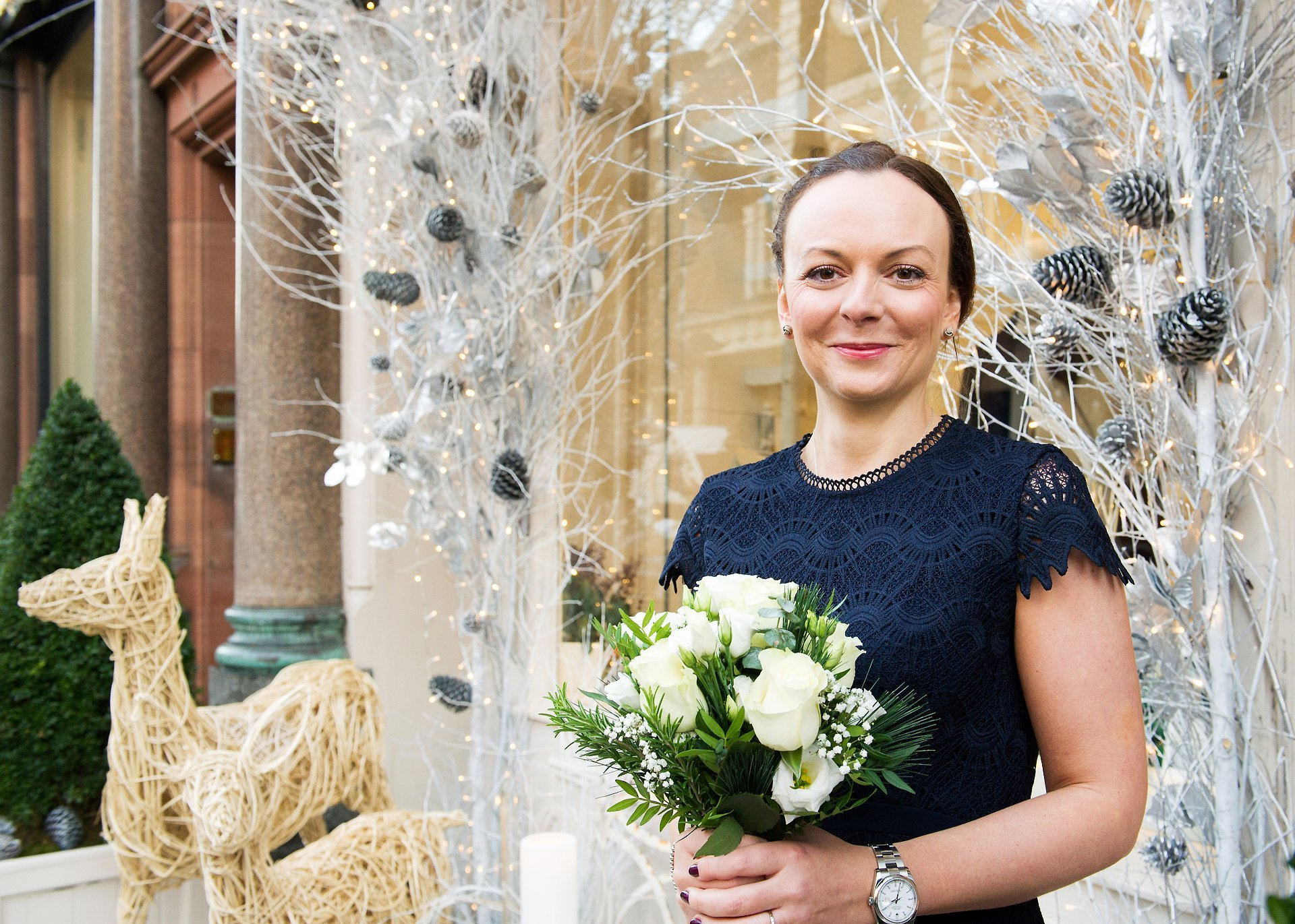 a bride photographed by old marylebone town hall wedding photographer emma duggan