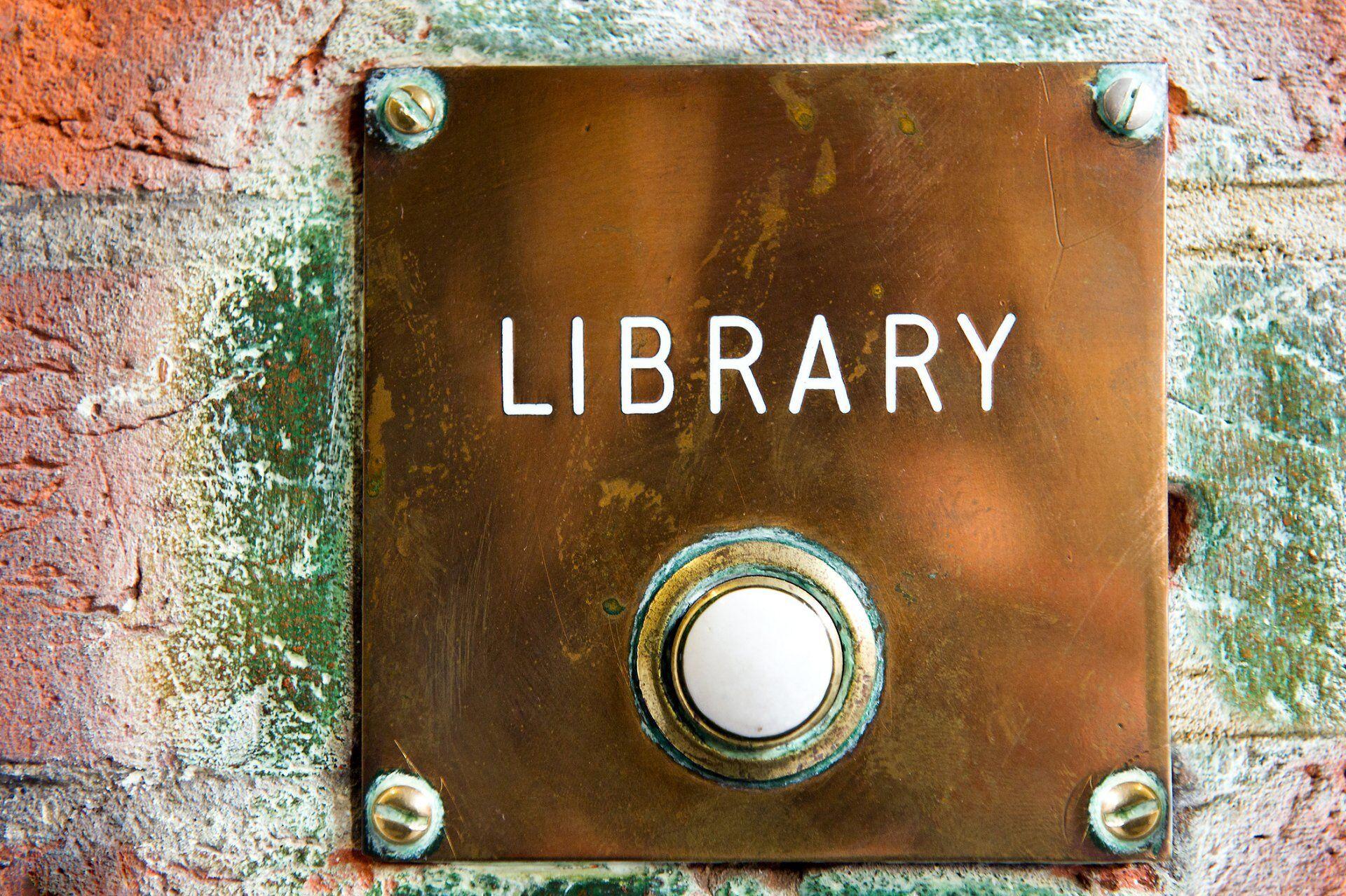 brass door bell mayfair library south audley street