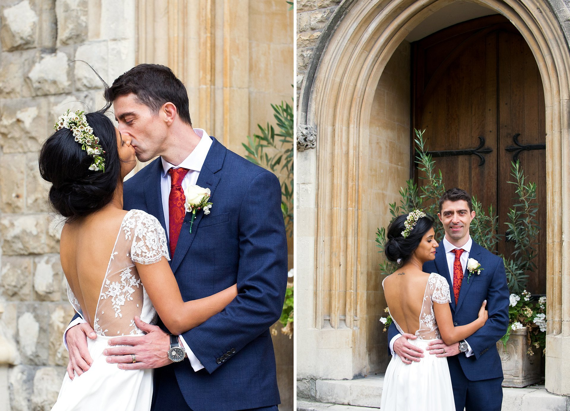 bride and groom in mayfair by marylebone wedding photographer emma duggan