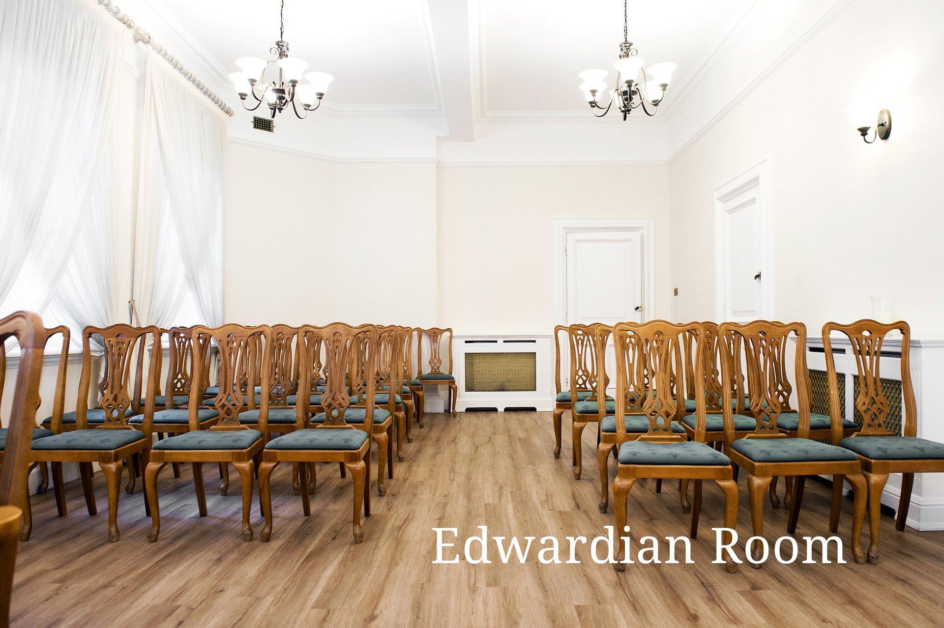 Edwardian Room ceremony Greenwich Register Office