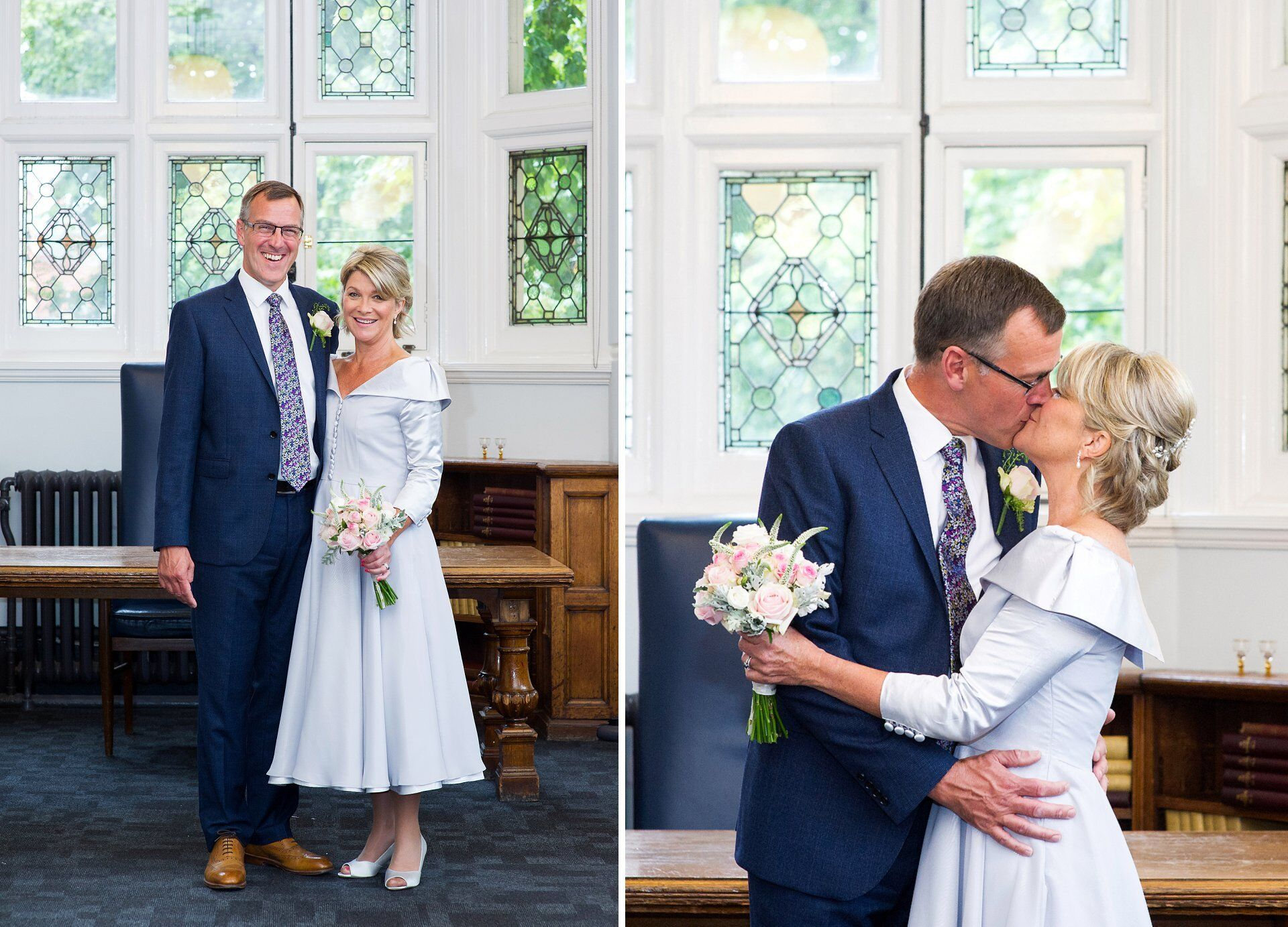 emma duggan photography and a bride and groom at westminster register office