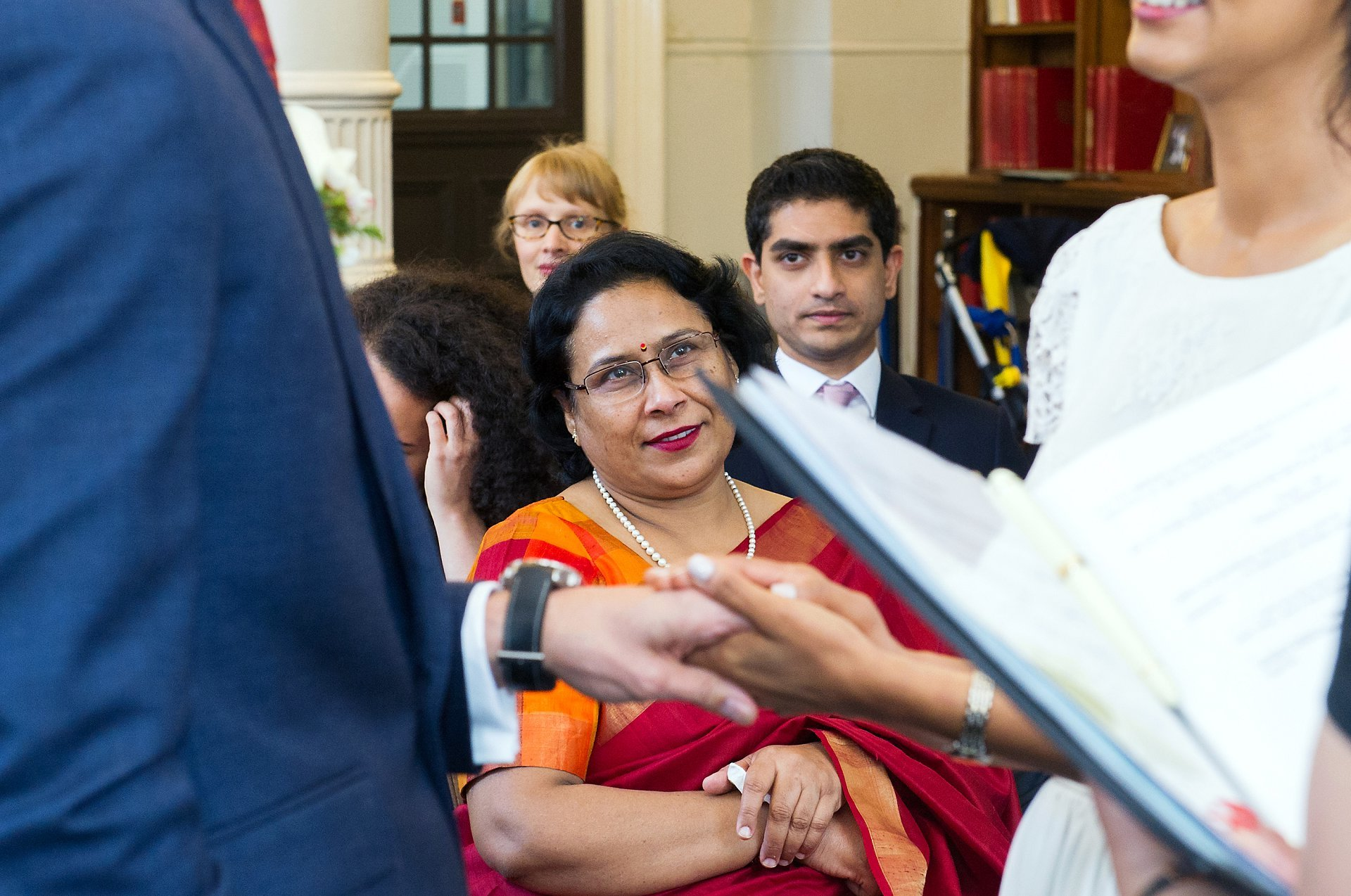 indian mother captured by marylebone road wedding photographer