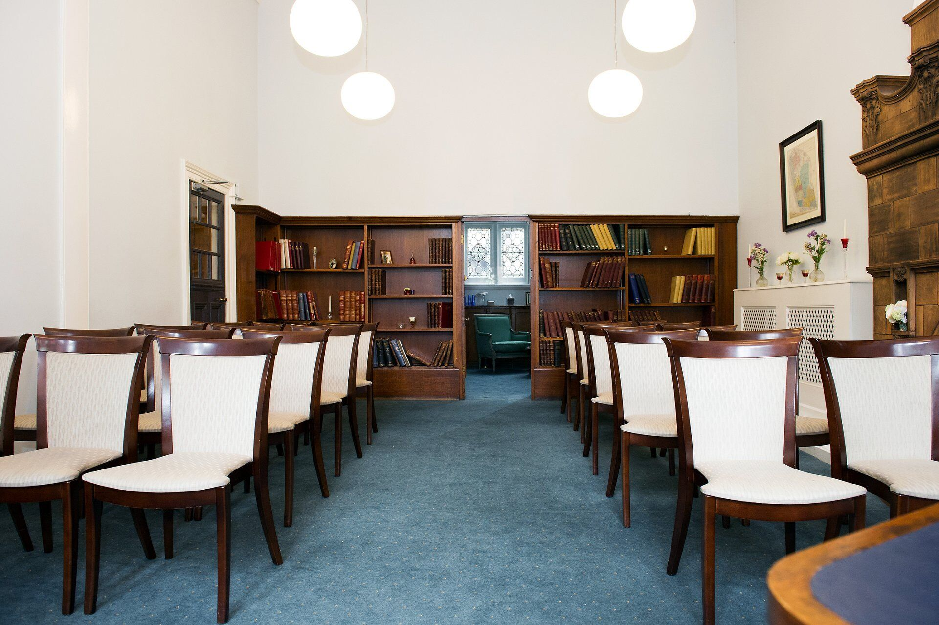 interior marylebone room mayfair library the temporary home of westminster register office
