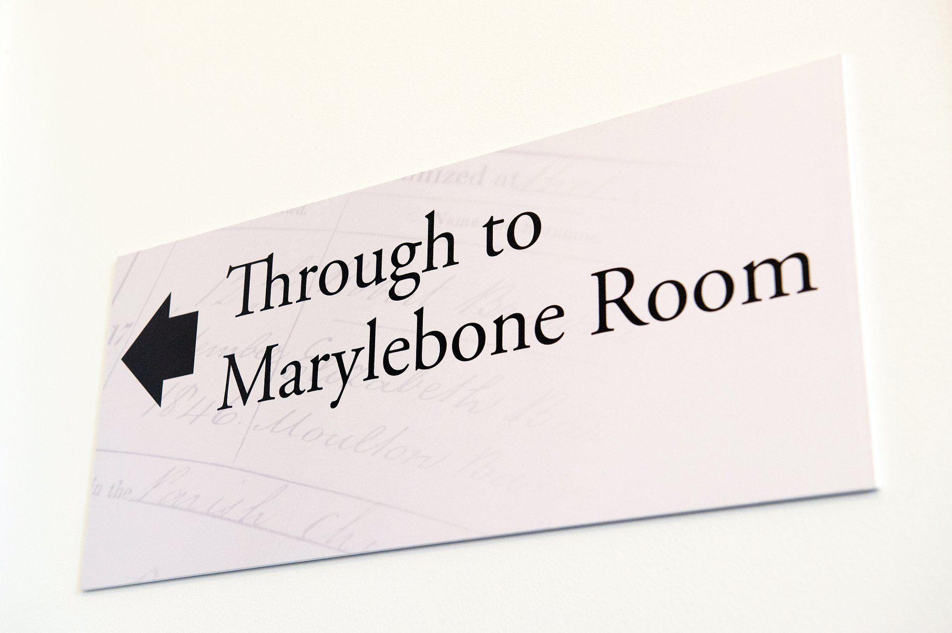 marylebone room mayfair library