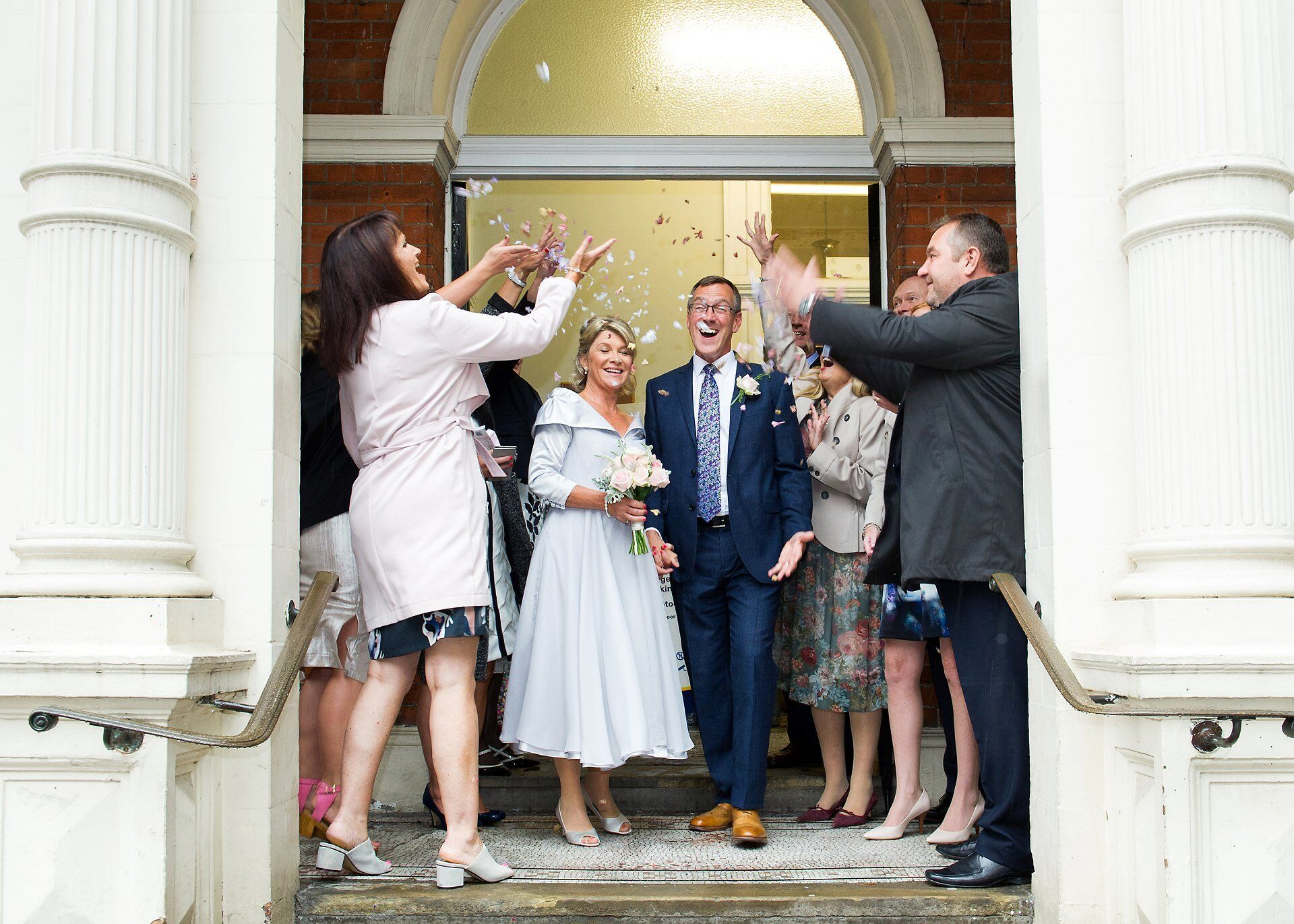 mayfair library scaffolding wedding photographer