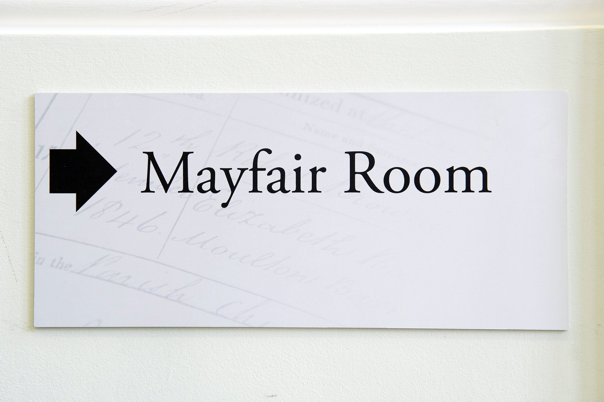 mayfair room ceremony at mayfair library