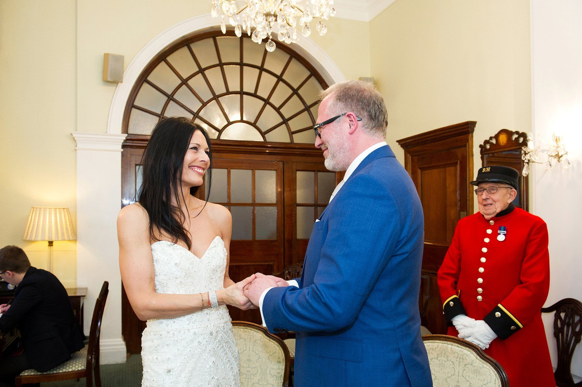 rossetti room ceremony at chelsea old town hall
