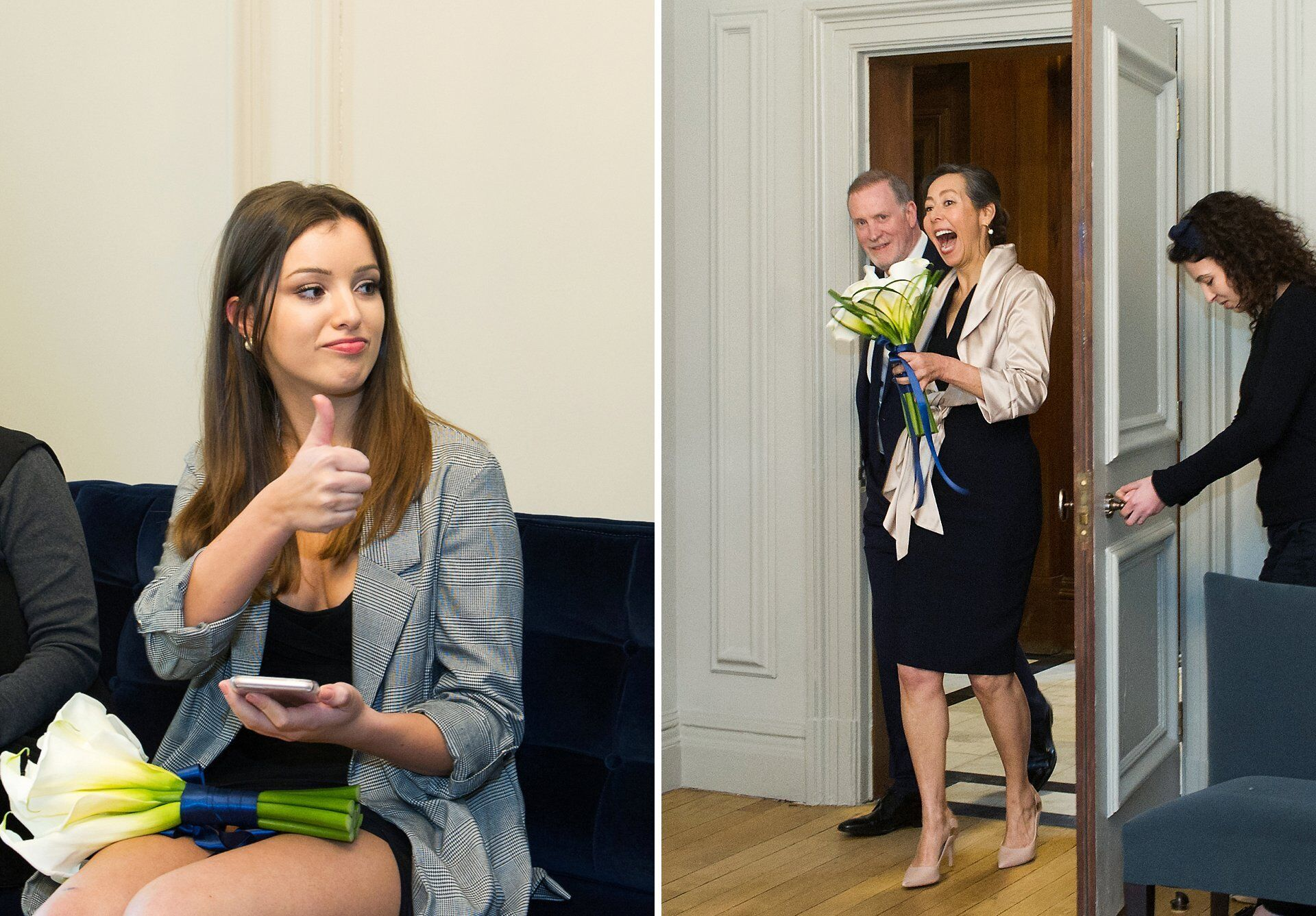 start of westminster wedding by quality london registry office wedding photographer emma duggan