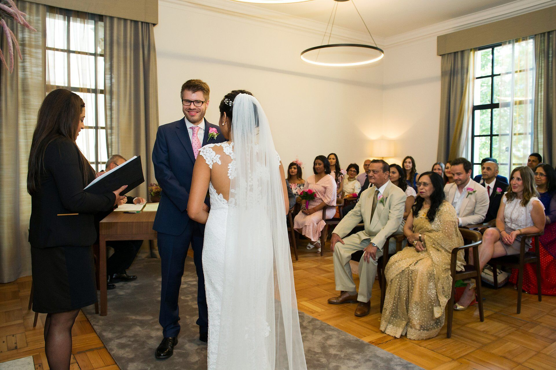 mayfair room wedding photography with capacity 30 guests ideal for smaller weddings