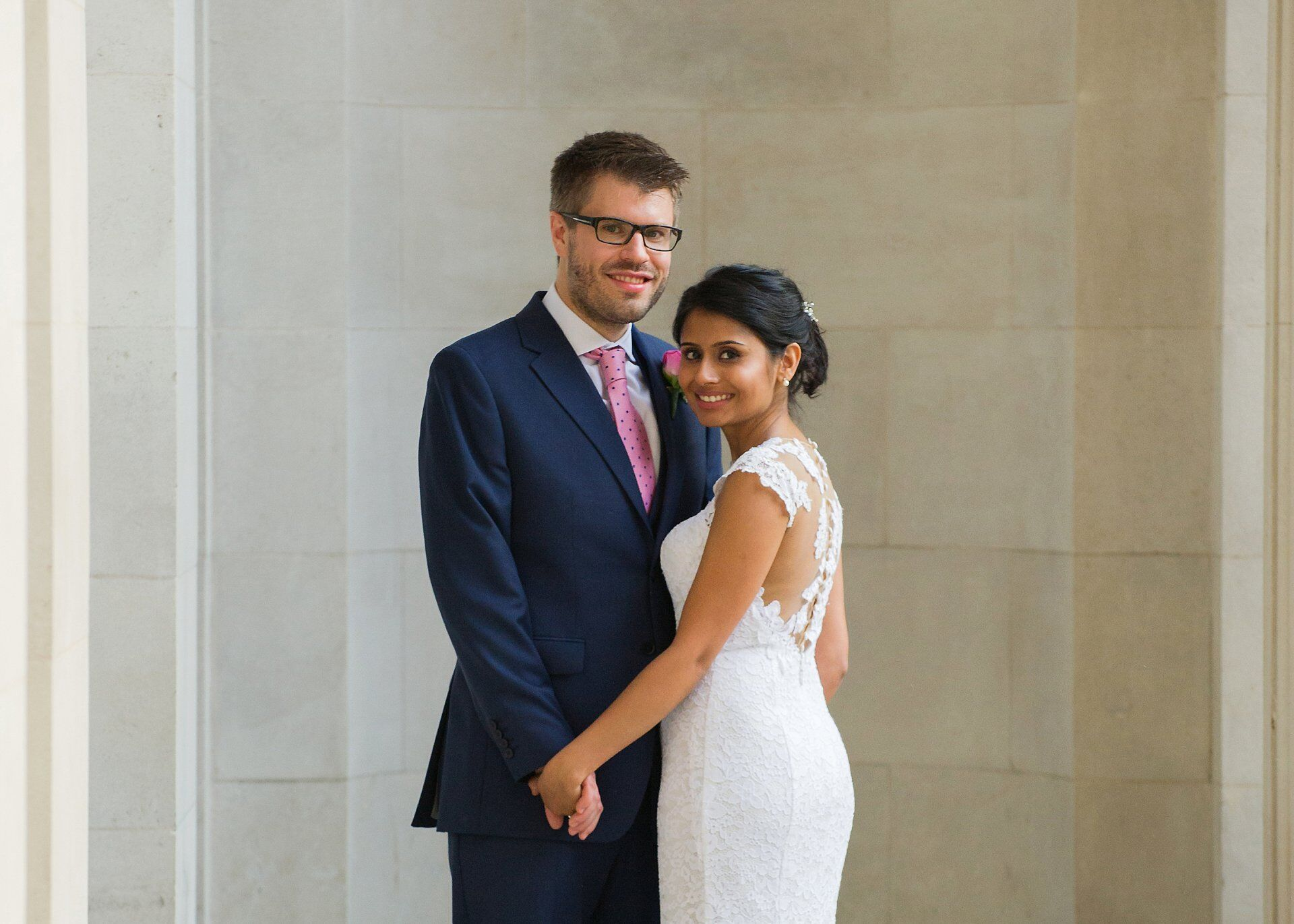 old marylebone town hall wedding photographer anglo-indian civil marriage