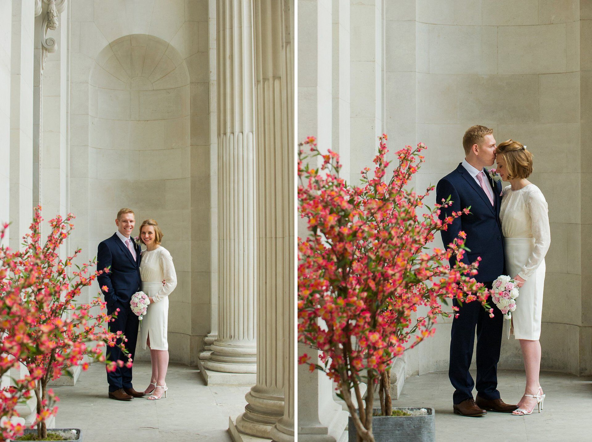 stylish london wedding venue old marylebone town hall for elegant portraits