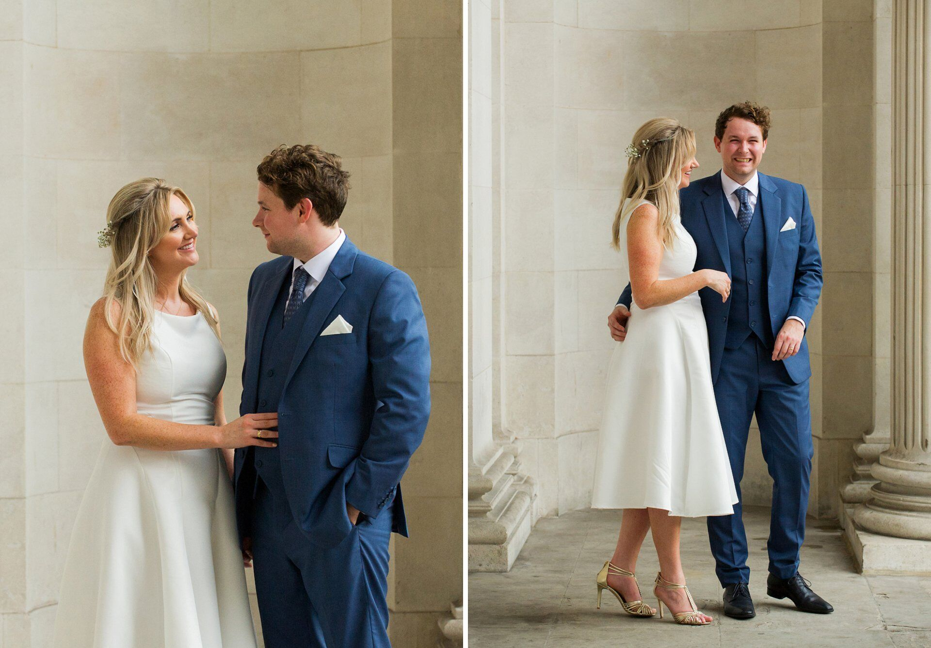 stylish small register office wedding at old marylebone town hall by short coverage specilaist emma duggan