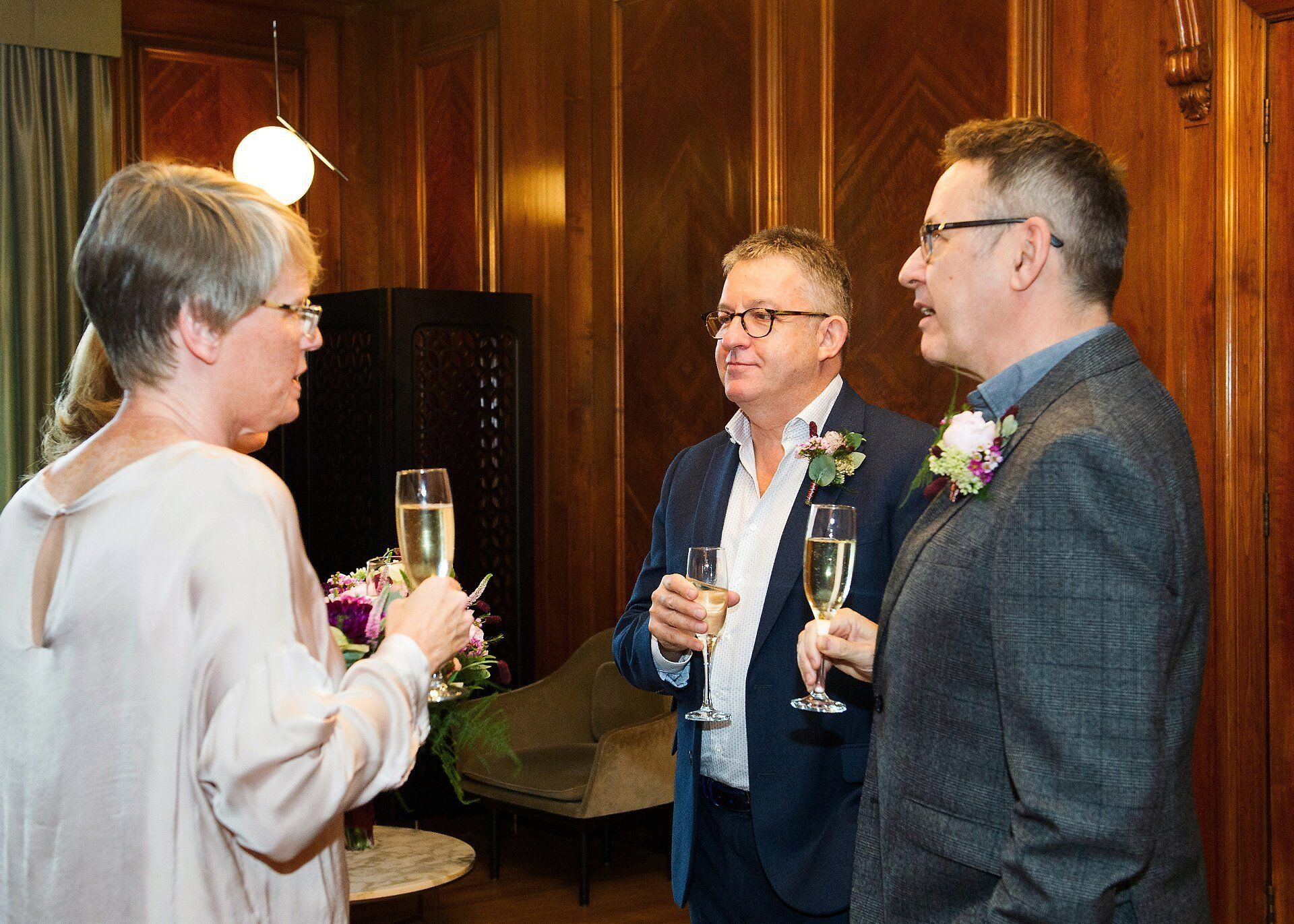 paddington room first toast option and champagne at a day to remember westminster a luxury london wedding venue